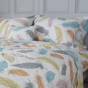 Feather Pastel Bedspread 200cm x 220cm
