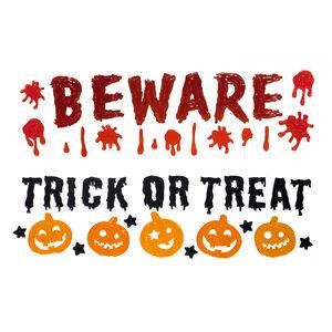 Halloween Beware / Trick or Treat Window Gel
