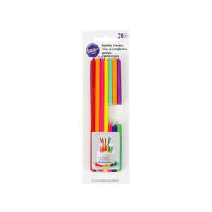 Wilton birthday Candles Tall & Short