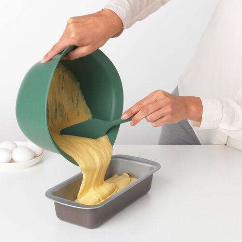 Brabantia Silicone Baking Spatula - Fir Green