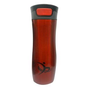 Metallic Vacuum Travel Mug - Red