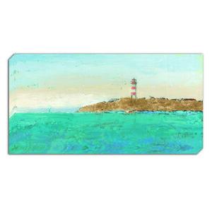 Lighthouse Escape Canvas 50x100cm
