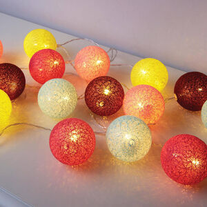 15 LED Decorative Ball String Light