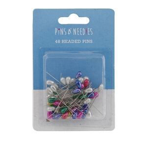 48 Headed Pins