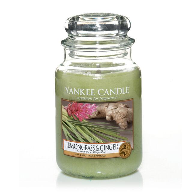 Yankee Lemongrass and Ginger Large Jar