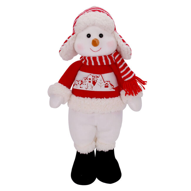 Standing Snowman Decoration 17""