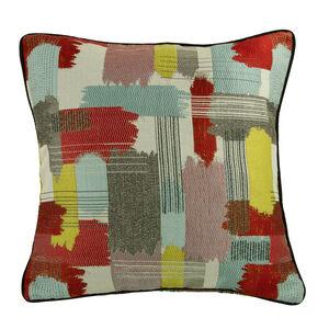 Retro Paint Stripe Cushion 58cm x 58cm