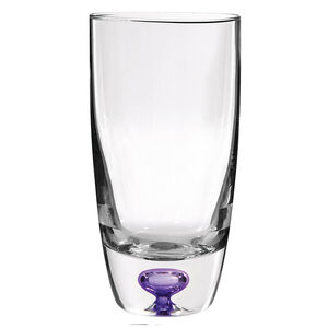 Cashel Living Amethyst Core Hi-Ball Glasses
