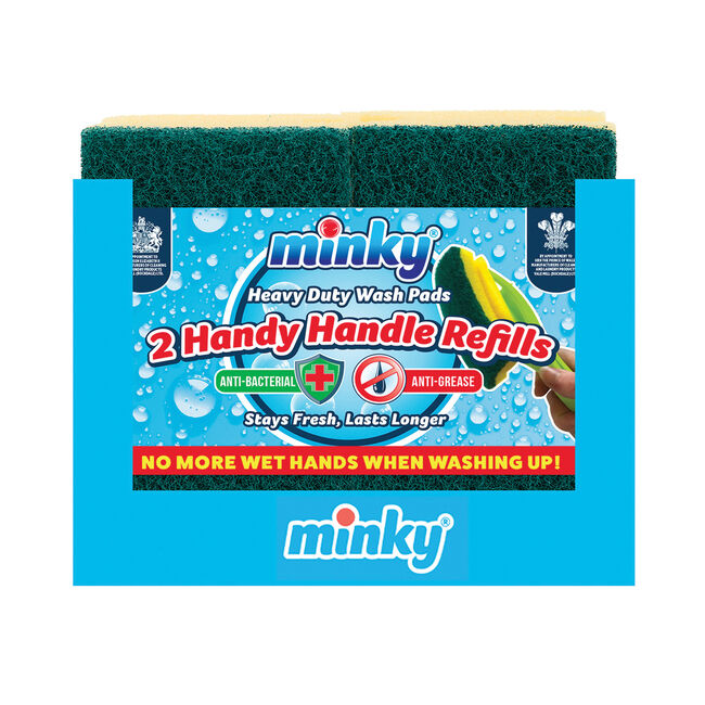 Minky Handy Handle Refills 2 Pack