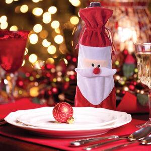 Santa Wine Bottle Bag