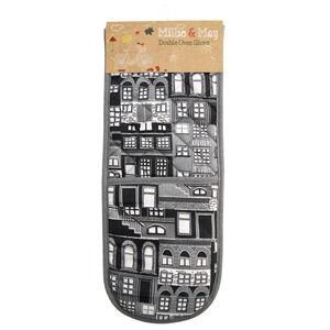 City Stripe Double Oven Glove