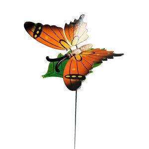 Fluttering Butterfly Garden Stake