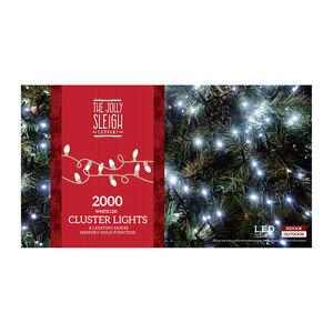 2000 White LED Cluster Lights