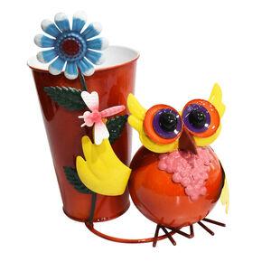 Owl Decoration Plant Pot