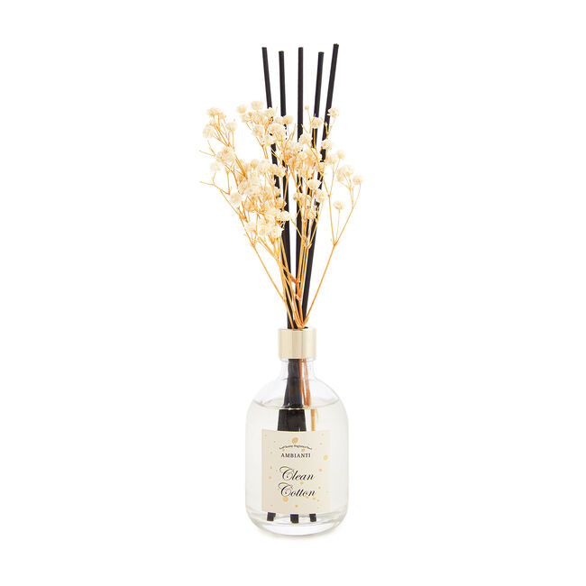 Ambianti Dried Flower Clean Cotton Reed Diffuser