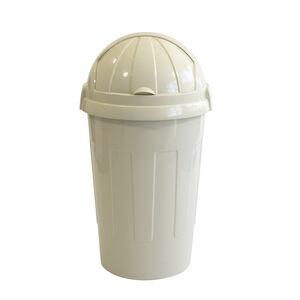 Casa Bullet Bin Cream 50L