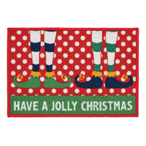 Jolly Elves Doormat 40cm x 60cm