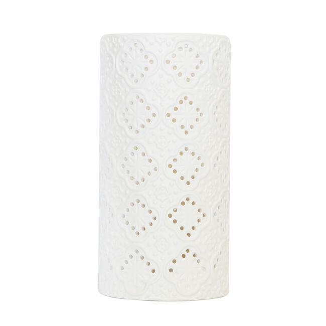 Diamonds Silhouette Ceramic Table Lamp
