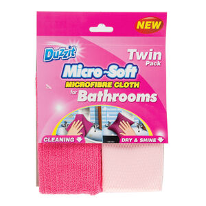Duzzit Bathroom Cloth 2pk