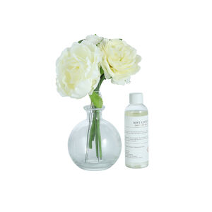 Soft Cotton White Floral Reed Diffuser
