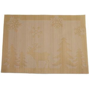 Reindeer Gold Placemat