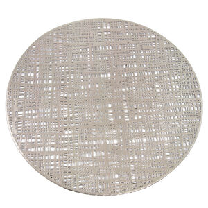 Round Placemat - Silver