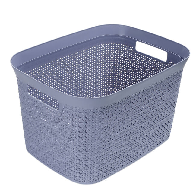 Ezy Mode 25L Open Basket Soft Violet