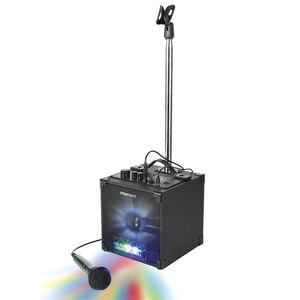 Intempo Party Speaker with Microphone Stand