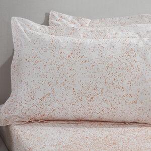 Ombre Splash Pink Oxford Pillowcase Pair