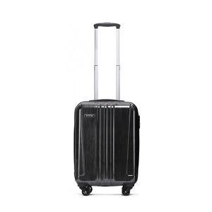 Cabin Size Brushed Charcoal Hardshell Luggage