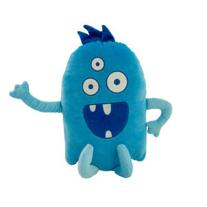 Monster Blue Cushion 40cm