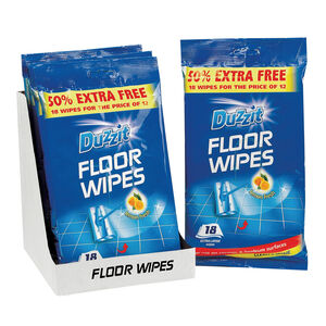 Duzzit Floor Wipes 24 Pack