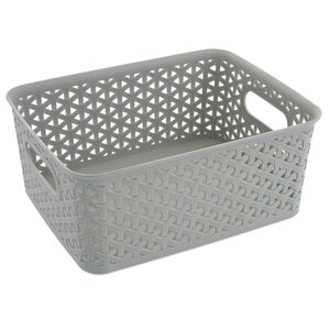 Geometric 4L Mint Basket