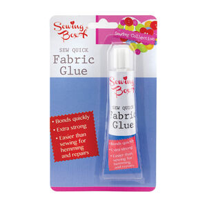 Sewing Box Fabric Glue
