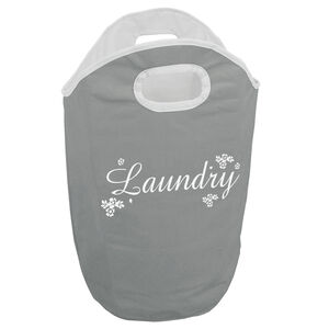 Ditsy Scroll Laundry Hamper