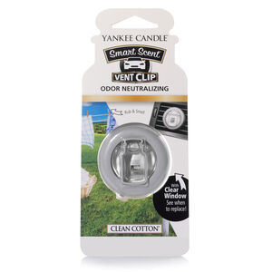 Yankee Candle Smart Scent Vent Clip Clean Cotton