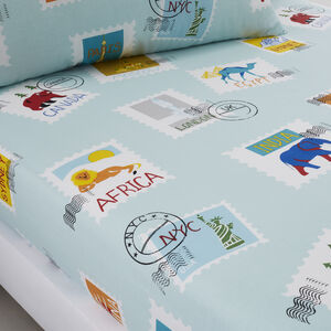 ADVENTURE King Fitted Sheet