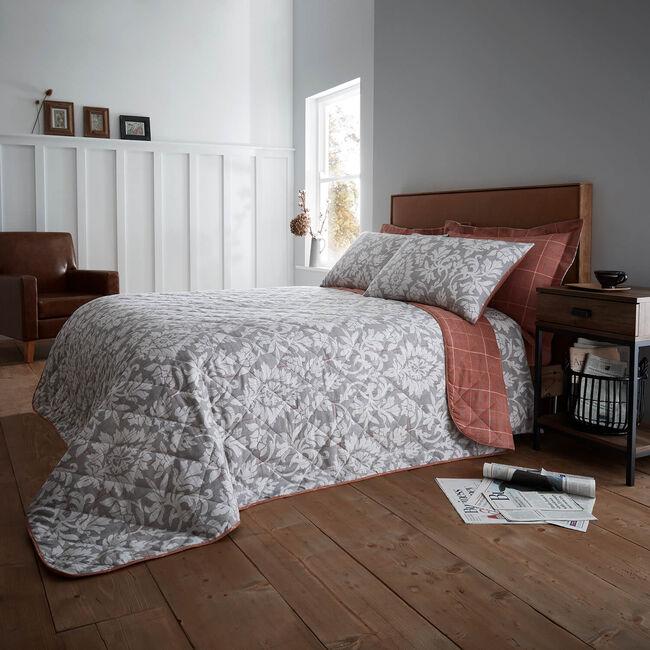 Brushed Cotton Colette Bedspread 200 x 220cm