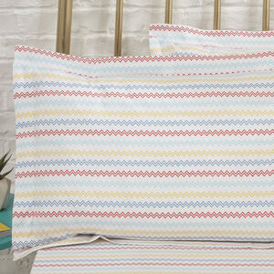 300TC Cotton Dylan Oxford Pillowcase Pair - Multi