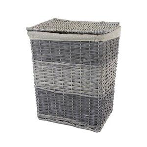 Rectangular Wicker Small Laundry Basket