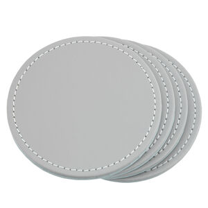 Reversible Round Coasters Duck Egg & Grey