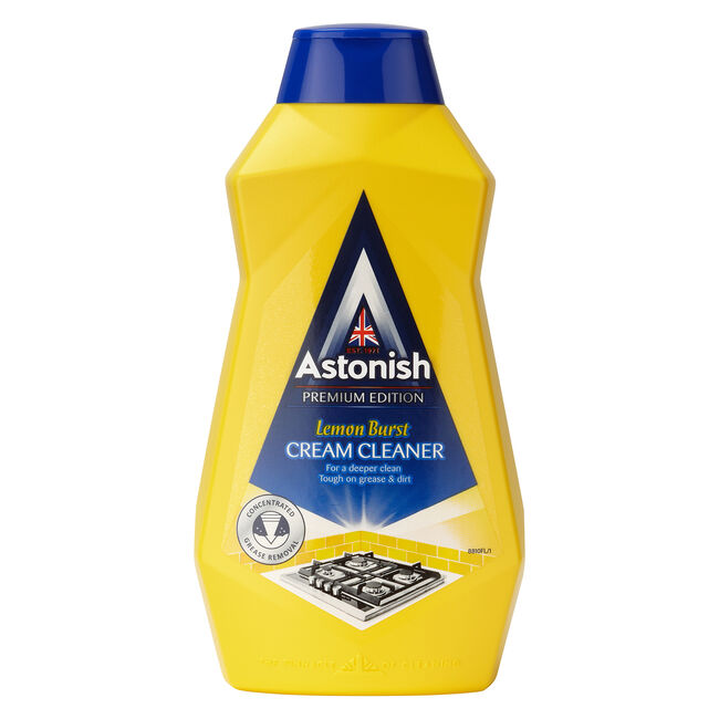 Astonish Premium Cream Cleaner Lemon Burst 500ml