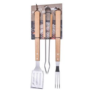 Premium 3 Pack BBQ Tool Set