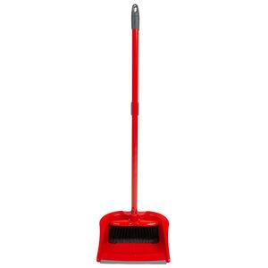 Wham Klean Long Handle Dustpan and Brush Set