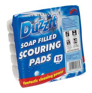 Duzzit Soap Filled Scourers 15pk