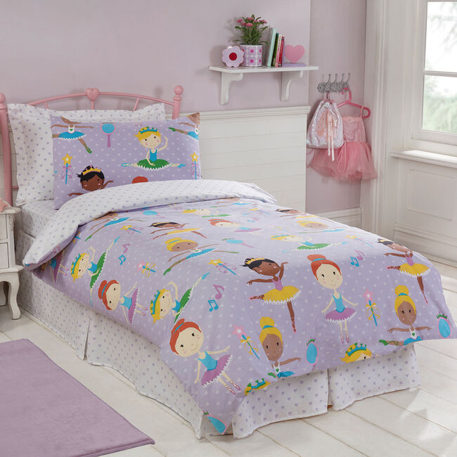 JUNIOR BED DUVET COVER Princess Tutu
