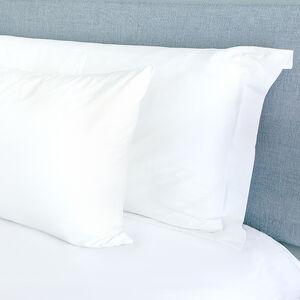 300TC Cotton Oxford Pillowcase Pair - White