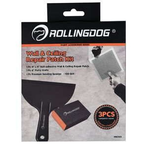Rolling Dog Wall & Ceiling Repair Patch Kit