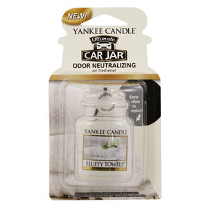 Yankee Candle Fluffy Towels Car Jar
