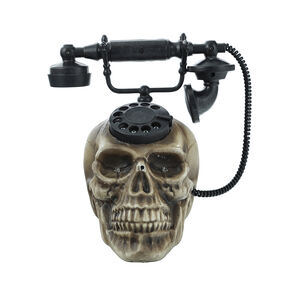 Light Up Talking Skull Telephone